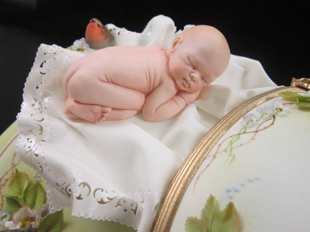 Baby Life Like Sculpture Mold By Ros Schramm