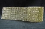 Bling - Gold Rhinestone 1 Yard