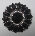 Brooch Facet Fancy Jewel Small