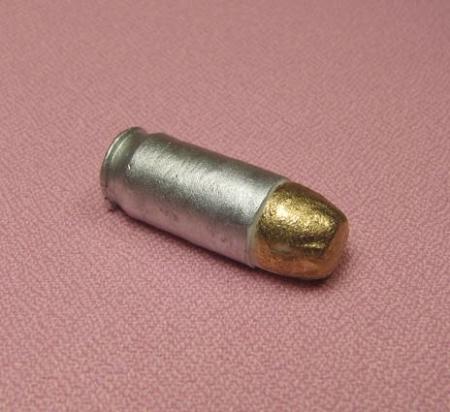 Bullet 45 caliber by jennifer dontz measures 1 1 4 quot x 1 2 quot x 3 8 quot