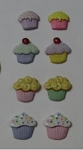 Cupcake Mini Set of 8