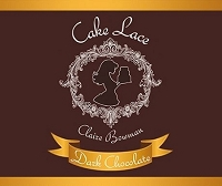 Dark Chocolate Cake Lace 200g By Claire Bowman