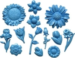Flower Mini Misc. Set of 13