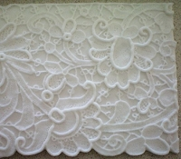 Floral Lace 2 Border Wide