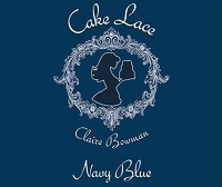 Navy Blue Cake Lace 200g By Claire Bowman