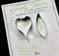 Alstroemeria Petal Cutter Set By Simply Nature Botanically Correct Products