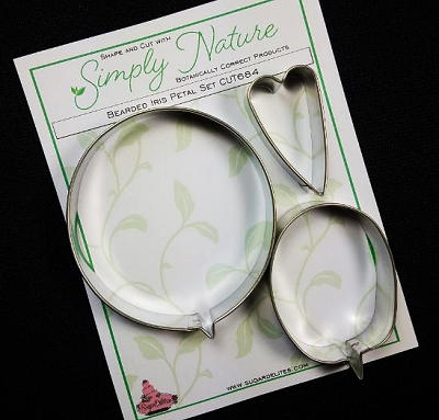Bearded Iris Petal Cutter Set By Simply Nature Botanically Correct Products