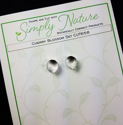 Cherry Blossom Cutter Set By Simply Nature Botanically Correct Products (Stainless Steel)