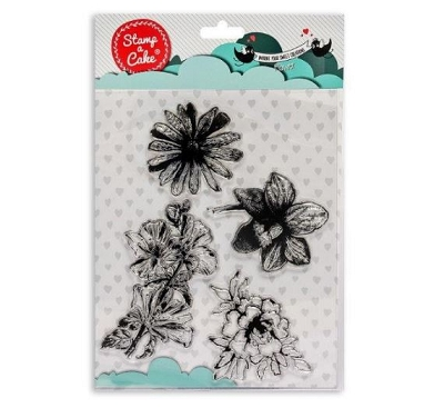Flowers Stamp Set By Stamp a Cake