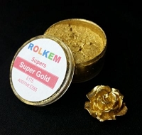 Gold Metallic Super Dust By Rolkem