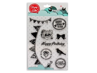 Birthday Stamp Set By Stamp a Cake