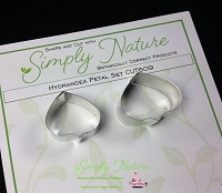 Hydrangea Petal Botanically Correct Cutter Set By Simply Nature