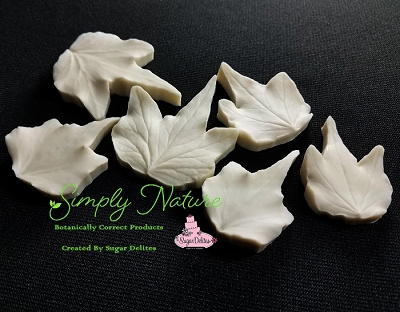 Green Ripple Ivy Leaf Veiner Set Large By Simply Nature Botanically Correct Products