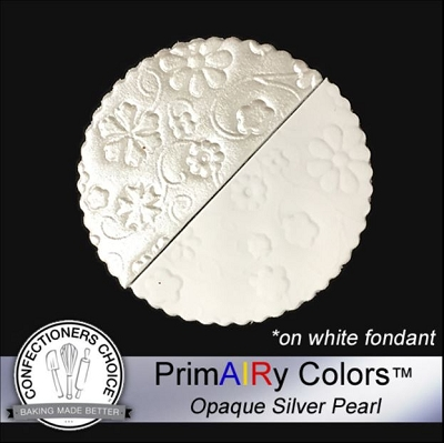 Silver Pearl Opaque Airbrush Color 125 ml By PrimAIRy Colors