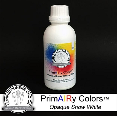 Snow White Opaque Airbrush Color 75 ml By PrimAIRy Colors