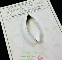 Dahlia (White Ball) Petal Cutter By Simply Nature Botanically Correct Products