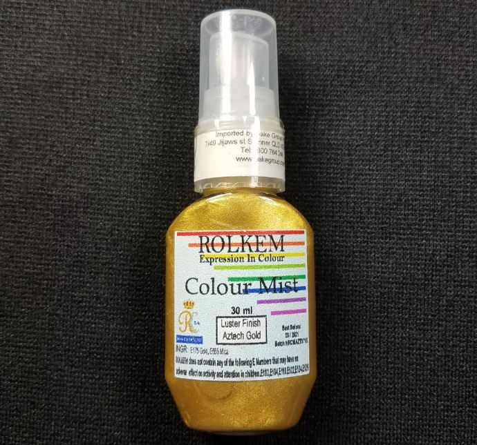 Aztech Gold Luster Color Mist 30 ML By Rolkem