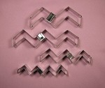 Chevron Cutter Set of 4 (Open Ended)