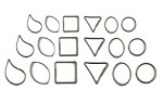 Shapes Mini Accent Cutters Set of 18