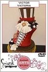 Victor ~ Victoria DVD By Swank Cake Design