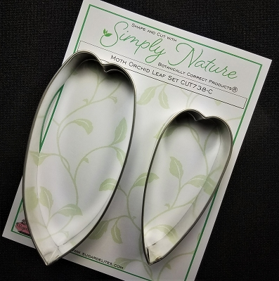 Moth Orchid Leaf Cutter Set By Simply Nature Botanically Correct Products®