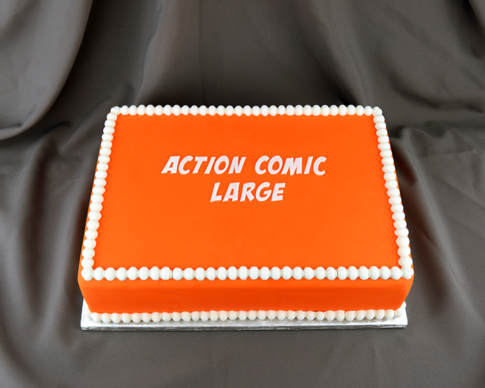 Flexabet Action Comic Large Letters