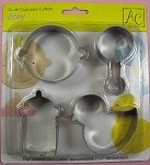 Baby Assortment Cupcake Cutters Set By AC