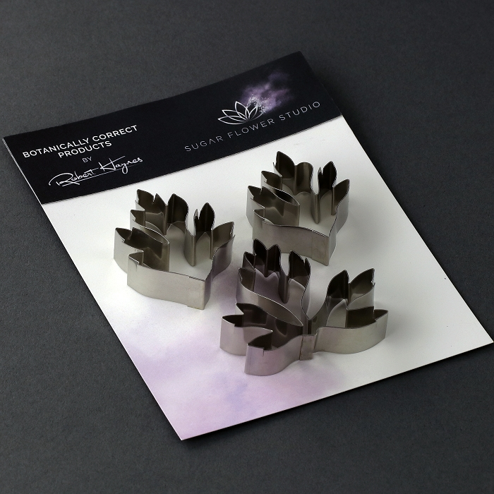Buttercup Leaves Botanically Correct Cutters Set Of 3 By Robert Haynes