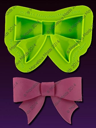 Bow Vintage Mold By Elisa Strauss