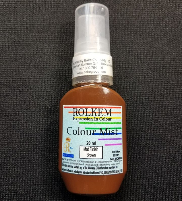Brown Matte Color Mist 20 ML By Rolkem