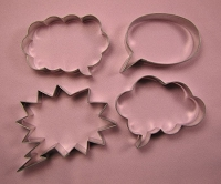 Bubble Talk Set of 4