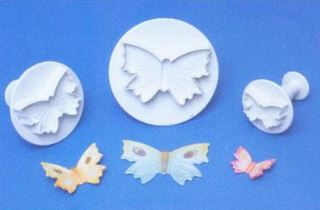 Butterfly Cutter Set of 3 PME