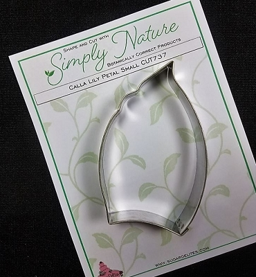Calla Lily Petal Cutter Small By Simply Nature Botanically Correct Products®
