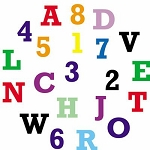 Tappits- Alphabet Upper Case & Numbers FMM
