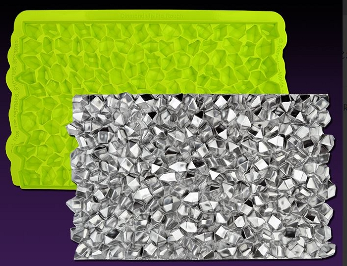 Diamonds in The Rough Simpress By Marvelous Molds