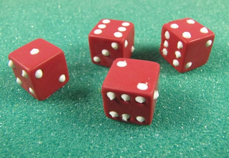 Dice Mold Set of 4 By Sugar Delites