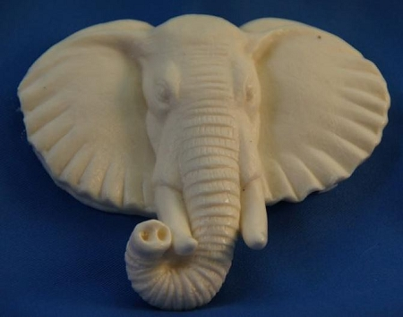 Elephant Face Mold