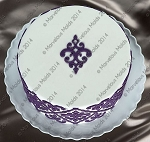 Filigree Damask Medallion Onlay