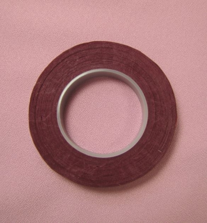 Floral Tape: 1/2 Inch Hamilworth WINE