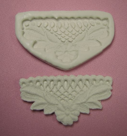 Flower Lace Border Single