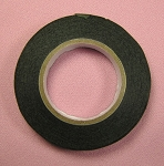Floral Tape: 1/2 Inch Dark Green CK (Moss)