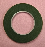 Floral Tape: 1/4 Inch DARK GREEN Hamilworth