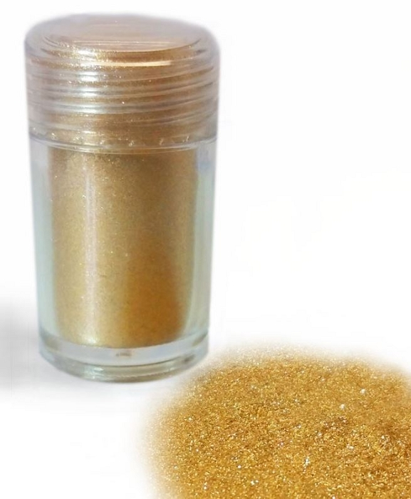 Gold Metallic Diamond Dust (Glitterati Gold) By Crystal Candy FDA Approved