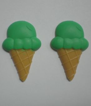 Ice Cream Cone Large Pair