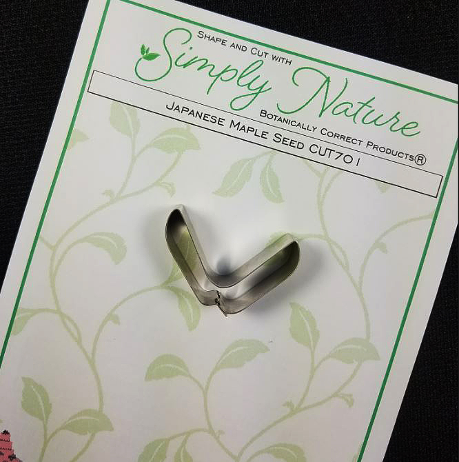 Japanese Maple Seed Cutter By Simply Nature Botanically Correct Products® (Stainless Steel)