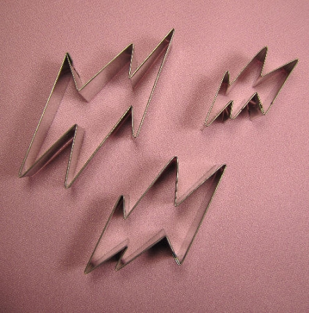 Lightning Bolt Set of 3