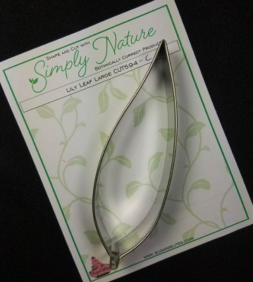 Lily Leaf Cutter Large By Simply Nature Botanically Correct Products®