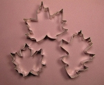 Maple Leaf Set of 2 and Oak Leaf Cutter Set