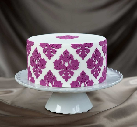 Damask Pattern 01 Onlay