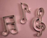 Musical Note Cutter Set Large